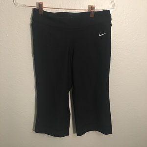 Nike Dri fit small cropped wide leg leggings
